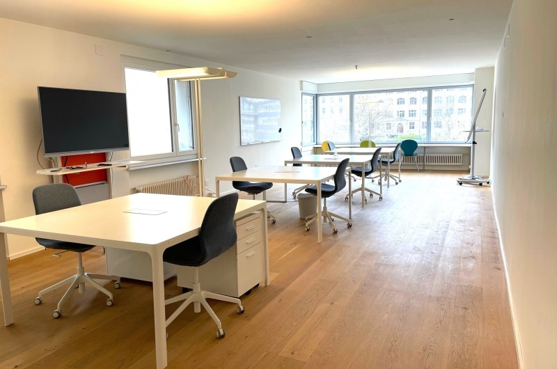 Coole Co-Working-spaces an der Limmat - 1